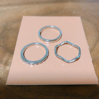 指輪 3点セット(リング(指輪))