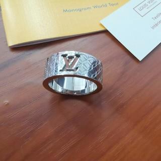 ルイヴィトン(LOUIS VUITTON)のルイヴィトン LV リング 指輪 メンズ ファッション  (リング(指輪))