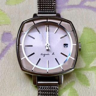 agnes b. - アニエス・ベー  ㉙  腕時計・稼動品✨