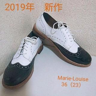 REGAL - 36 23cm マリールイーズ おじ靴 ウィングチップ