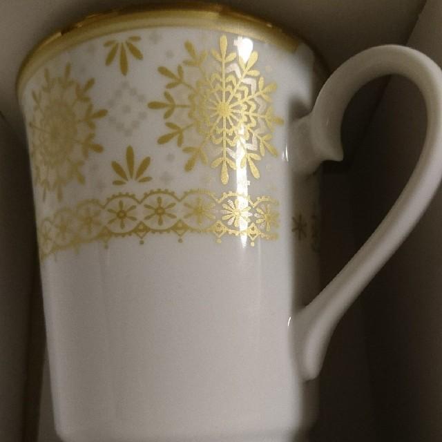 NARUMI(ナルミ)のNARUMI ペアマグカップコーヒーカップティーカップ インテリア/住まい/日用品のキッチン/食器(グラス/カップ)の商品写真