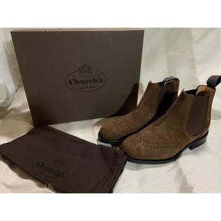 チャーチ(Church's)の新品 チャーチ スウェード サイドゴアブーツ(ブーツ)