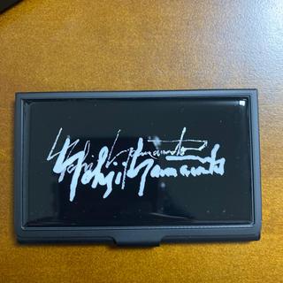 ヨウジヤマモト(Yohji Yamamoto)のヨウジヤマモト  カードケース ノベルティ(名刺入れ/定期入れ)