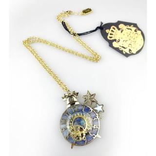 アリスアンドザパイレーツ(ALICE and the PIRATES)のチックタック時計と星屑歯車ネックレス【A/P】アリパイ(ネックレス)