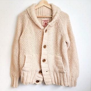 ダブルクローゼット(w closet)のw closet vintage風 ウール100% カウチンセーター ニット (ニット/セーター)