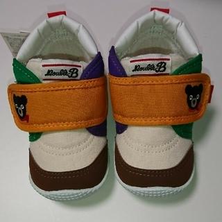 ダブルビー(DOUBLE.B)のミキハウス 靴 13㎝(スニーカー)