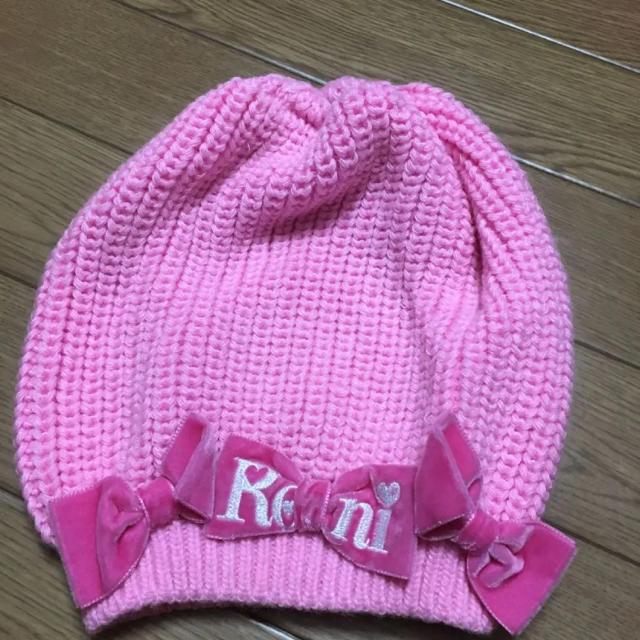 RONI(ロニィ)のRONI❤️訳あり新品  ニット帽  M キッズ/ベビー/マタニティのこども用ファッション小物(帽子)の商品写真