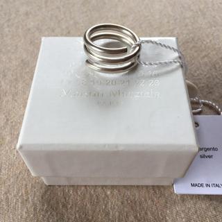 マルタンマルジェラ(Maison Martin Margiela)のM新品56%off メゾンマルジェラ コイル リング シルバー 指輪 メンズ(リング(指輪))