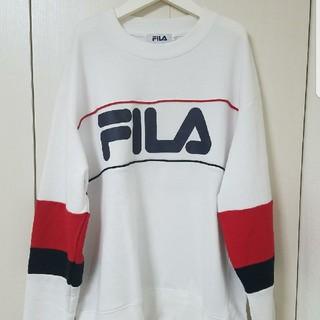 フィラ(FILA)の新品! FILA トレーナー(トレーナー/スウェット)