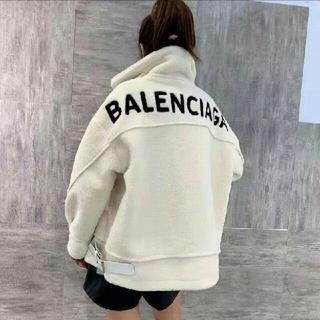 Balenciaga - 今年流行バレンシアガ ロングパーカー アウターボア