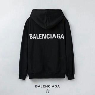 Balenciaga - 【ブラックM】「2枚11000円送料込み」バレンシアガBALENCIAGAパーカ