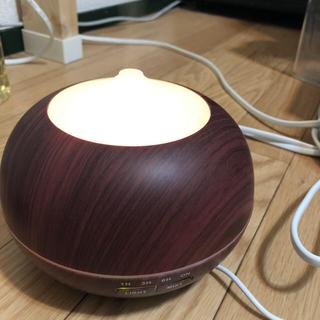 ライト付きアロマ加湿器