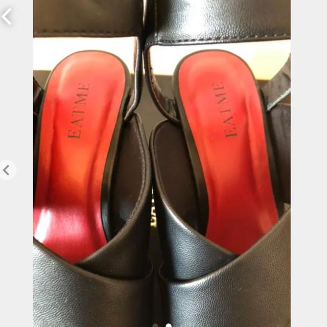 EATME(イートミー)の⭐︎値下げ⭐︎イートミー EAT ME サンダル 黒 レディースの靴/シューズ(サンダル)の商品写真