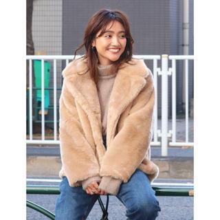 アングリッド(Ungrid)の新品♡Ungrid♡フェイクファーコート(毛皮/ファーコート)