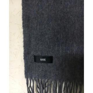 HARE - 訳あり❣️HARE男女兼用マフラー  グレー