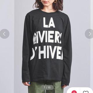 ユナイテッドアローズ(UNITED ARROWS)のユナイテッドアローズ エムズブラックRIVIERA Tシャツ(Tシャツ(長袖/七分))
