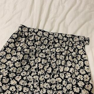 ロキエ(Lochie)の本日のみ、古着 vintage 花柄スカート(ロングスカート)