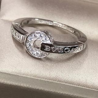BVLGARI - 本日限定 BVLGARIのホワイトゴールドとダイヤの指輪