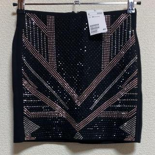 H&M - H&M スタッズタイトスカート 32