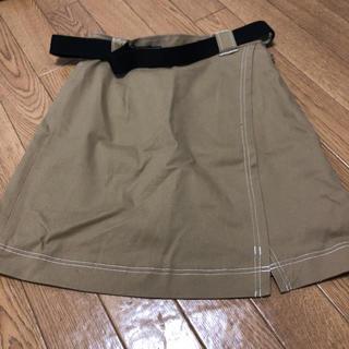 ムルーア(MURUA)のベルト付きスカート(ミニスカート)