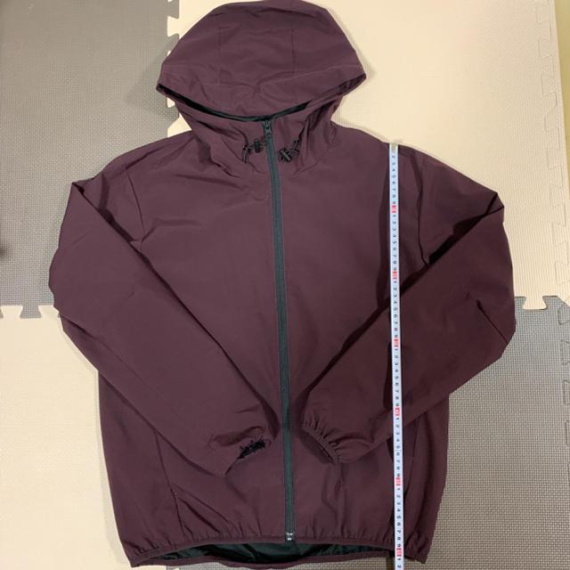 GU(ジーユー)のGU ジーユー シェルパーカ 上着 Mサイズ メンズのジャケット/アウター(マウンテンパーカー)の商品写真