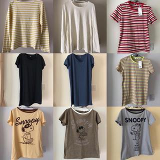 ユニクロ(UNIQLO)のユニクロ Tシャツ まとめ売り9点 Lサイズ(Tシャツ(半袖/袖なし))