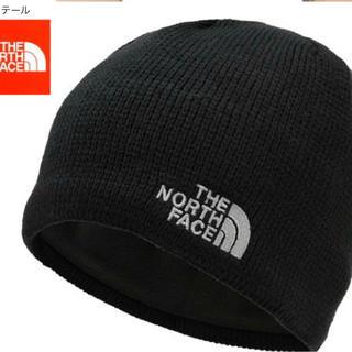 ザノースフェイス(THE NORTH FACE)の新品 タグ付き ノースフェイス  ニットキャップ ビーニー ブラック(ニット帽/ビーニー)