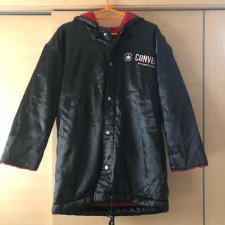 コンバース(CONVERSE)のコンバース ベンチコート 裏ボア ブラック(ジャケット/上着)