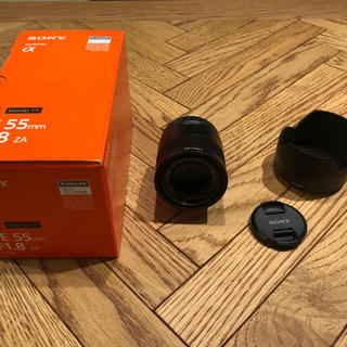 ソニー(SONY)のSONYソニー 55mm f1.8 SEL55F18Z(レンズ(単焦点))