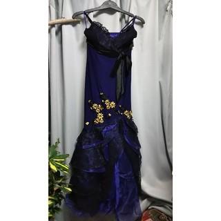 パープルロングドレス(ロングドレス)