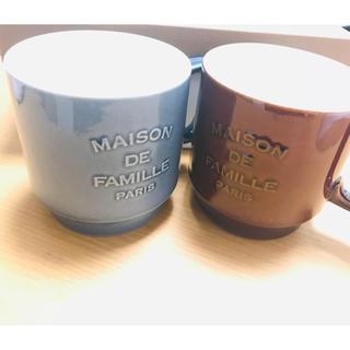 ディーンアンドデルーカ(DEAN & DELUCA)のmaison de famille ペアマグカップ(グラス/カップ)