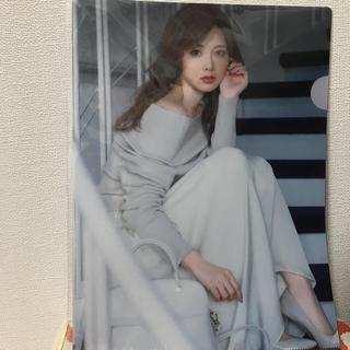 白石麻衣さんクリアファイル(クリアファイル)