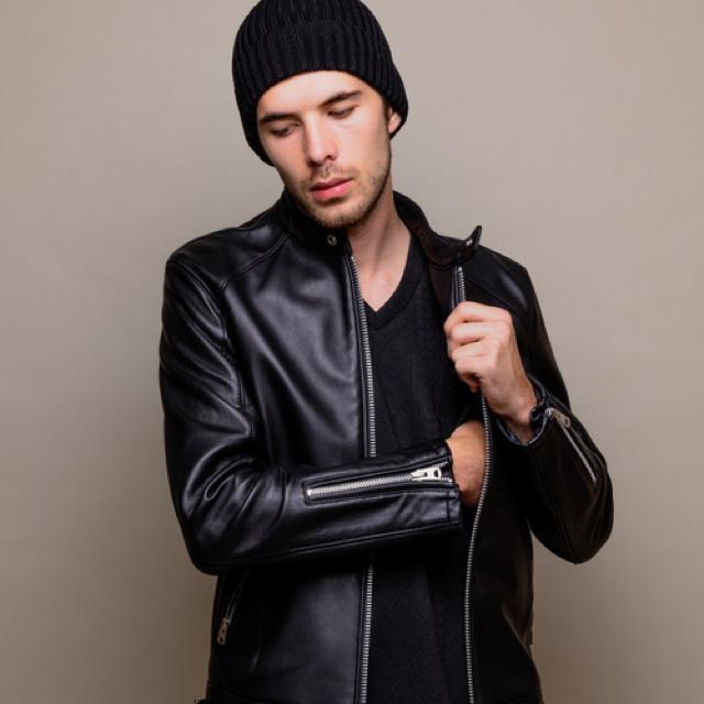 JACKROSE(ジャックローズ)のvivigaga様 専用 jack rose ラムレザー シングルライダース メンズのジャケット/アウター(ライダースジャケット)の商品写真
