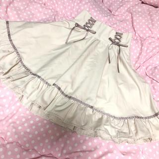 ブルーローグ(BLUE ROGUE)のブルーローグ 編み上げ スカート(ミニスカート)