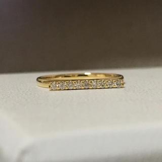 エストネーション(ESTNATION)のk18 ダイヤモンド バーリング 指輪 (Hirotaka AHKAH 好きに)(リング(指輪))