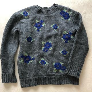 ルシェルブルー(LE CIEL BLEU)のルシェルブルー 花柄ニット(ニット/セーター)