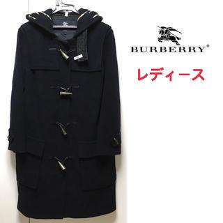 クリーニング済【vintage】BURBERRY ダッフルコート レディース
