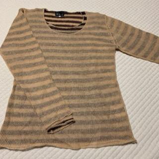 ザショップティーケー(THE SHOP TK)のTHE SHOP TK MIXPICE サイズ3 二枚重ねセーター 美品(ニット/セーター)