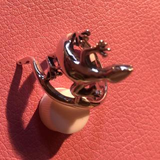 トカゲ シルバー925 リング  21号 リザード 爬虫類 銀 指輪 ギフト(リング(指輪))