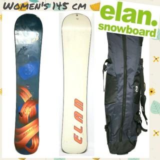 エラン(Elan)の◇ELAN◇monolite スノーボード ディレクショナルキャンバー145㎝(ボード)