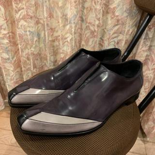 プラダ(PRADA)のPRADA プラダ ドレスシューズ 革靴 パテントレザー(ドレス/ビジネス)