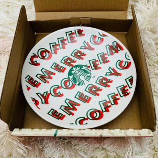 Starbucks Coffee - スターバックス  クリスマスノベルティ 小皿白②