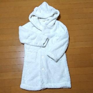 チュチュアンナ(tutuanna)の耳フード付きもこもこアウター/着る毛布/羽織り(ルームウェア)