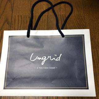 アングリッド(Ungrid)のアングリッド 紙袋 ショップ袋(ショップ袋)