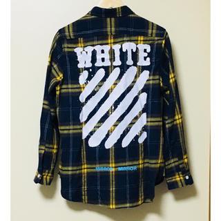 OFF-WHITE - OFF-WHITE チェックシャツ