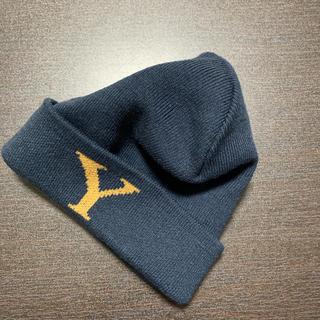 ニコアンド(niko and...)の【niko and... 】 ニット帽 ニットキャップ ユニセックス ネイビー(ニット帽/ビーニー)