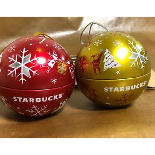スターバックスコーヒー(Starbucks Coffee)のスターバックス クリスマス ボールオーナメント2個セット(その他)