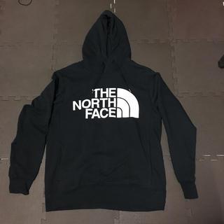 ザノースフェイス(THE NORTH FACE)のノースフェイス ロゴパーカー黒(パーカー)