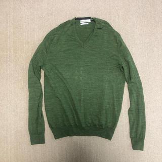 カルバンクライン(Calvin Klein)のカルバンクライン  90年代 ラフシモンズ  s ニット 薄手 コットン(ニット/セーター)