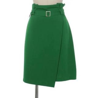 ティティアンドコー(titty&co)の新品タグ付き ベルト付きスカート(ひざ丈スカート)